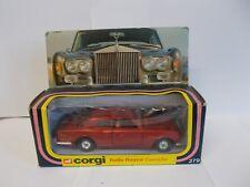 corgi 279 rolls-royce corniche boxed 1979