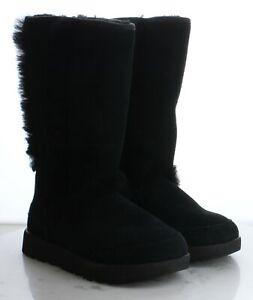 79-66 $250 Women's Size 6.5M UGG Sundance Waterproof Boot in Black