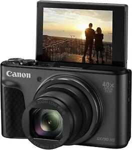 CANON PowerShot SX730 HS Superzoom Compact 20.3MP Camera - Black