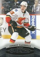 2015-16 Upper Deck Overtime Hockey #132 Johnny Gaudreau Calgary Flames