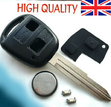 FITS Toyota Yaris Corolla Echo 2 button KEY FOB REMOTE CASE Repair kit TOY41
