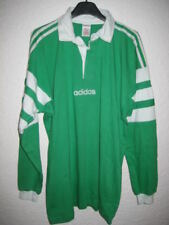 VINTAGE Maillot rugby ADIDAS vert ancien shirt collector # L