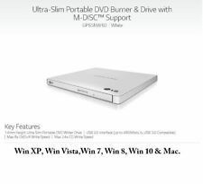 LG USB 2.0/3.0 Ultra Slim External DVDRW Drive CDRW CD DVD Burner Writer GP65
