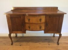 Antique Blackwood Sideboard with Cabriolet Legs. C.1910. Restored condition.