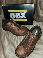 NICE NEW PAIR OF GBX ASPEN Mens Shoes Lace Up PEANUT 9M