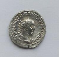 ANCIENT ROMAN SILVER ANTONINIANUS TRAJAN DECIUS /249-251 AD/