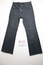 Levi's 602 bootcut nero (Cod.E1128) Tg 45 W31 L32 jeans usato boyfriend