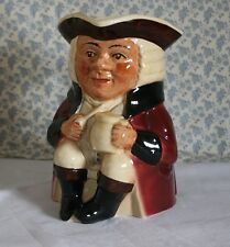 "Vintage Tony Wood Staffordshire Toby Jug - Aaron 7"" Tall"