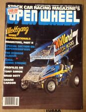 OPEN WHEEL 1982 Wolfgang Roadsters II TONY SIMON  BRAD DOTY SHANE CARSON RACING