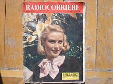 GRACE KELLY RANIERI WEDDING EHE COVER AKTIONEN ITALIAN MAGAZIN 1956