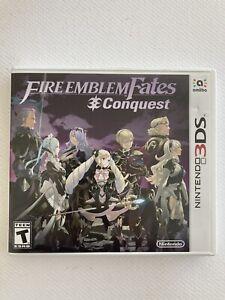Fire Emblem Fates: Conquest (Nintendo 3DS, 2016) No Manual