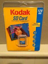 Kodak SD Card 128MB Memory Card Brand New and Sealed Vintage 2004 Digital Camera