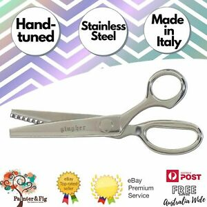 "Gingher 7.5"" Pinking Shears - Pinking Scissors, Zig Zag, Dressmaker, Dressmaking"