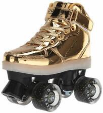 Chicago Skates Gold Pulse Light-up Roller Skates - Gold Boot Size 7