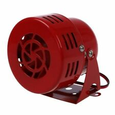 12V AUTOMOTIVE AIR RAID SIREN HORN CAR TRUCK VTG MOTOR DRIVEN FIRE RESCUE U O4N9