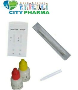 1 Chlamydia AND Gonorrhoea Rapid home Testing Kit Professional STI STD Screening