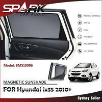 SP MAGNETIC CAR WINDOW SUN SHADE BLIND MESH REAR DOOR FOR HYUNDAI IX35 2010+