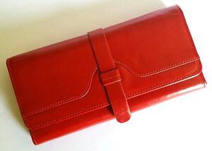 RFID blocking ladies genuine leather wallet