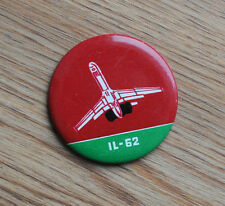 Ilyushin IL-62 Aircraft Plane Soviet Russian Pin Badge
