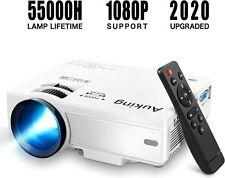 Full HD 1080P Portable Mini Home Theater Movie Video Projector HDMI USB Keystone