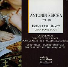 ANTONIN REICHA  octuor - quintette  J.L. SAJOT - ENSEMBLE KARL STAMITZ