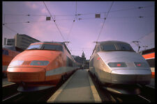 512075 TGV High speed Trains Paris France A4 Photo Print