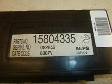 05-09 CADILLAC STS Rear Body Control Module BCM Rear Integration Module 15804335
