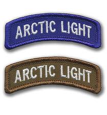 2 Arctic Light Tabs 6th Infantry Div and 172nd Infantry - Ft Richardson, Alaska