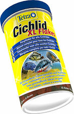Tetra Cichlid XL Flakes 1 L 1000 ml - Barsch Hauptfutter -24 Std. Versandservice