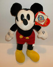 Mickeys World Collection HEART BEAT Disney Plush Mouse With Tags RARE 12 inch
