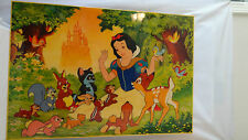 Walt Disney Rare Gallery 92 Snow White with Her Disney Animals Picture #F209