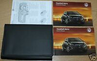 VAUXHALL ASTRA J OWNERS MANUAL HANDBOOK WALLET 2009-2012 PACK