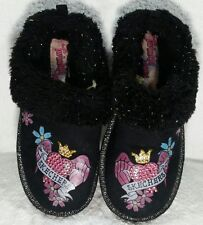 Skechers Clogs Girls Slip On Size 12 Twinkle Toes Black Embellished
