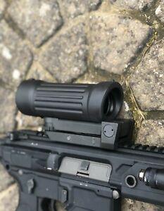 AIM 4X30 Tactical Original Elcan C79 Type Optical Sight Scope Airsoft LMG ACOG