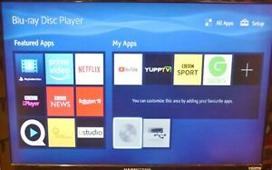 Sony BDP-S4500 3D Blu-ray Player without Remote