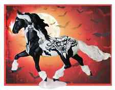 Breyer Horse 2014 Halloween Night Mare Paint Horse Traditional Glows Special Run