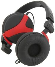 Qtx Qx40 Stereo Headphones, Red