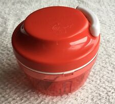 Tupperware Tupper Turbo Chef 300ml Rot Multizerkleinerer Mit 3er Klinge