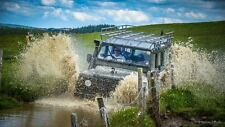 Land Rover Driving Experience with 90 Dirty Adventures any Saturday in October.