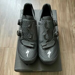 Specialized S-Works Recon Carbon Mountain Bike Shoes - Size 44 / 10.6 - Black