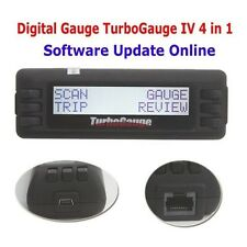TurboGauge IV Auto Computer Scan Tool Digital Gauge 4 in 1 Free Ship