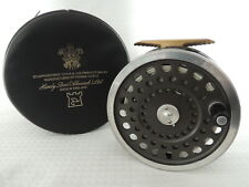 Hardy Marquis Salmon No3 Fly Fishing Reel + Makers Case & Hardy Line.
