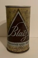 Vintage Blatz Beer Can Pull Tab Breweriana Empty 12 oz Collectible
