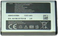 Replacement Battery for Verizon Samsung CONVOY 4 B690V AB663450BA 1300mAh