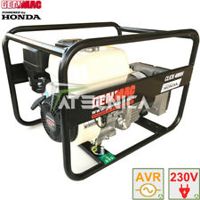 Generatore di corrente HONDA 3,1Kw GENMAC CLICK AVR gruppo elettrogeno stabilizz