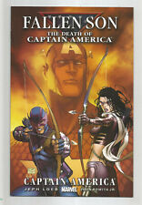FALLEN SON THE DEATH OF CAPTAIN AMERICA # 3 * MICHAEL TURNER cover