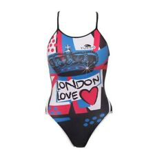 Turbo  Ladies London Love Swimsuit Sports Swimming Costume BNWT