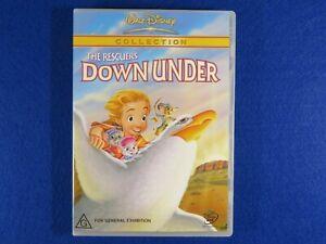 Walt Disney The Rescuers Down Under - DVD - Free Postage !!