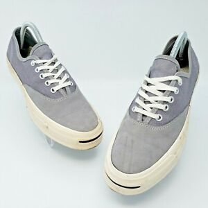 Converse Jack Purcell JP Signature Series Ox Gray Shoes Size US M7.5 L9 153593C
