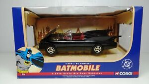 Corgi 1960's DC Comics Batman Batmobile Diecast Car 77505 1:24 Scale, 2005 , NIB